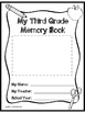 Third Grade Memory Book- End of the Year Project