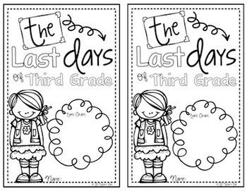 Third Grade Memory Book {Last Days of Third Grade} End of Year