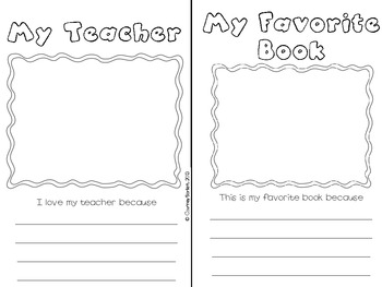 Third Grade Memory Book (with multiple cover options)