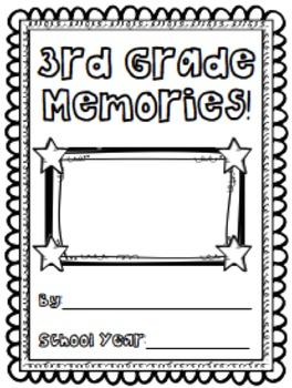 Third Grade Memory Book/End of Year