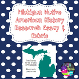 Michigan History Writing Assessment and Rubric - Third Grade Fun!