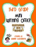 Third Grade Mini Writing Office