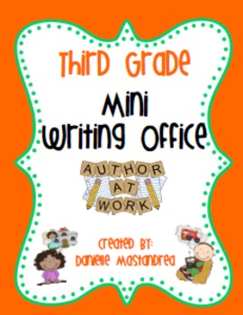 Third Grade Mini Writing Office