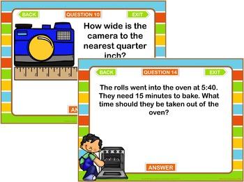 3rd Grade Math Test Prep PowerPoint Game