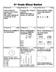 Third Grade Mixed Review and Test Prep