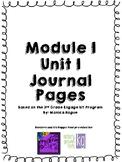 Third Grade Module 1 Unit 1 Journal based on Engage NY