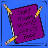 Third Grade Monthly Memory Book