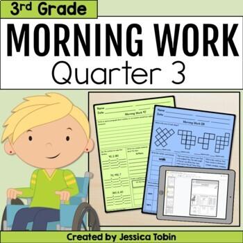 Third Grade Morning Work- 3rd Quarter