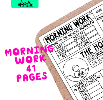 Third Grade Morning Work CC Pack