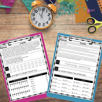 3rd Grade Morning Work — Third Grade Spiral Review