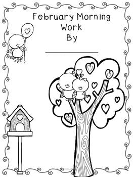 Third Grade Morning Work for February- Common Core Aligned