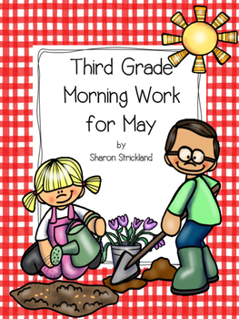 Third Grade Morning Work for May