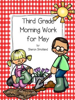 Third Grade Morning Work for May