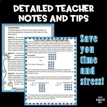 Multiplication Activities: Third Grade Common Core