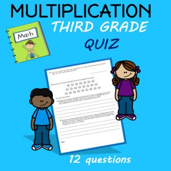 Multiplication Quiz Third Grade