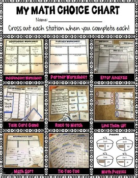 Third Grade Multiplication Strategies Math Centers
