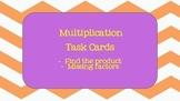 Third Grade Multiplication Task Cards