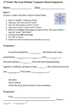 Third Grade My Crazy Holiday Essay  Christmas Hanukkah Etc  Essay Of Science also High School Essays Samples  English Essay Books
