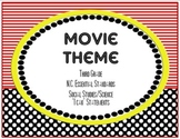 Third Grade N.C. Essential Standards - I Can Statements - Movie Theme