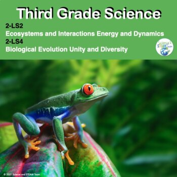 Third Grade NGSS 3-LS1, 3-LS2, 3-LS3, and 4-LS4:  Life Science Unit