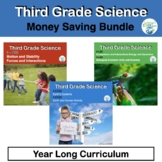 Third Grade Science NGSS Bundle in Pdf and TpT Easel Ready