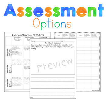 Third Grade NGSS: Climate (3-ESS2-2)