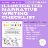 Third Grade Narrative Writing Checklist | Distance Learnin