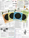 Third Grade National Geographic Reach for Reading Unit 3 Activities (Bundle)