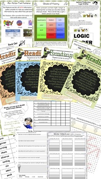 Third Grade National Geographic Reach for Reading Unit 5 Activities (Bundle)