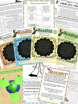 Third Grade National Geographic Reach for Reading Unit 7 Activities (Bundle)