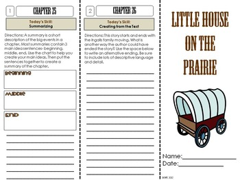 3rd Grade Foldable Novel Study Units: The No Prep Literature Circle Solution