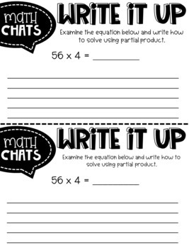 Third Grade Number Chats for the Year BUNDLE