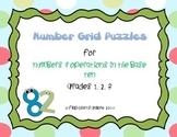 Third Grade Number Grid Puzzles ~ Math Center Work ~ 3.NBT