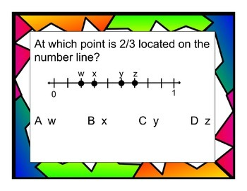 Third Grade Number and Operations- Fractions