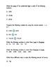 Third Grade Numeration/Place Value PRE-Test