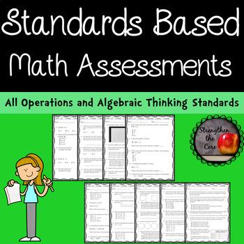 Third Grade OA Mathematics Standards Based Assessments