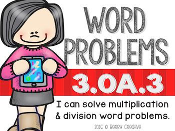 Third Grade Operations & Algebraic Thinking Math Stations