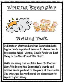 Third Grade PARCC Writing Exemplar