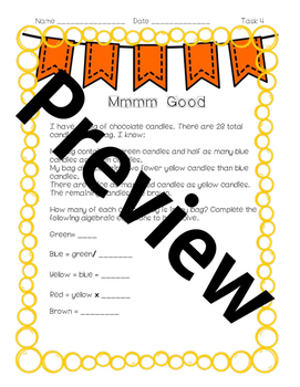 Third Grade Performance Task Bundle