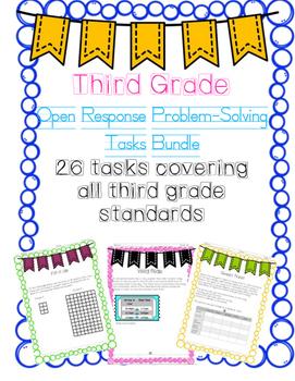 Third Grade Performance Task Bundle