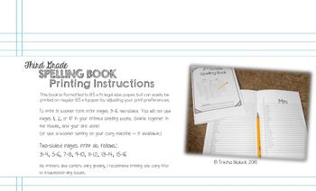 Third Grade Personal Journeys Spelling Book