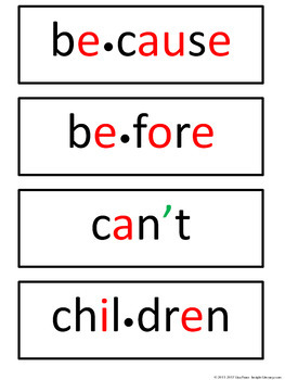 Third Grade Personal Spelling Word Wall + 38 Word Wall Cards