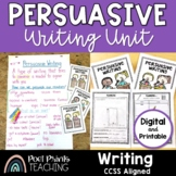 Third Grade Persuasive Writing Unit