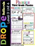 Third Grade Phonics Level 3 Unit 4 (Drop e Suffix Rule)