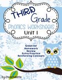 Third Grade Phonics Unit 1 Worksheets