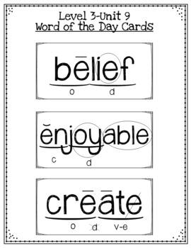 Third Grade Phonics Unit 10 Worksheets