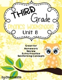 Third Grade Phonics Unit 8 Worksheets