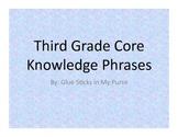 Third Grade Phrases-Core Knowledge