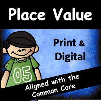 Third Grade Place Value: Common Core