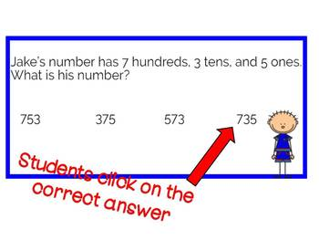 Third Grade Place Value: Digital Task Cards with Boom Learning